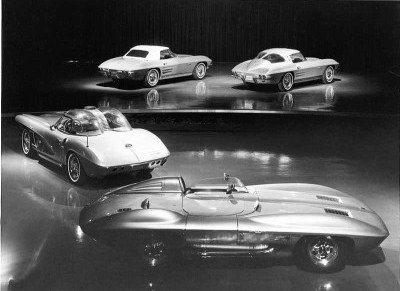 1963 Corvette development