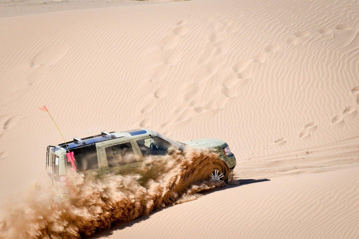 Rebelle Rally sand dunes