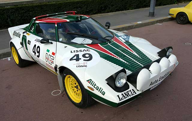 Alitalia Lancia livery
