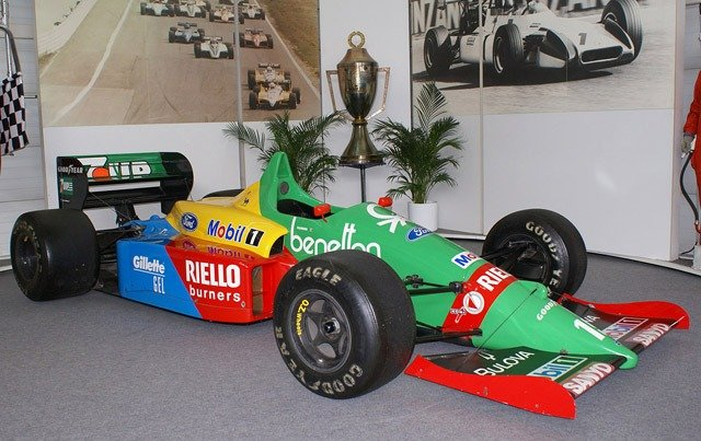 Benetton F1 livery