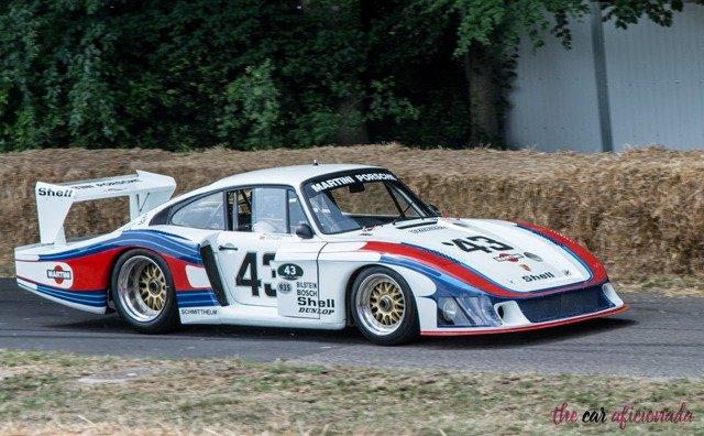 Martini Porsche livery