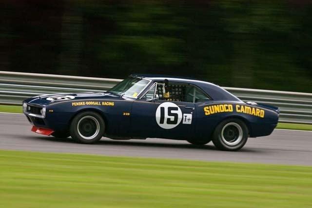 Sunoco Penske Camaro livery