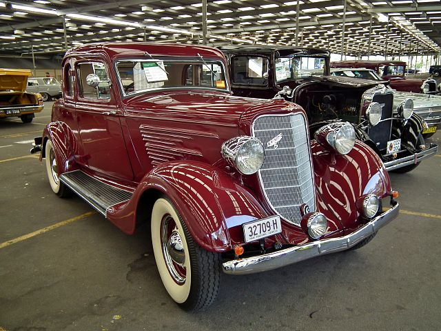 1934 Dodge DR coupe