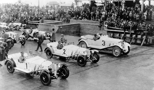 Adolf Rosenberger 1928 German Grand Prix