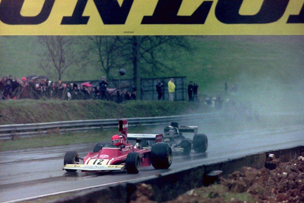 Niki Lauda race car driver