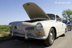 Louisville Cars and Coffee Volkswagen Karmann-Ghia