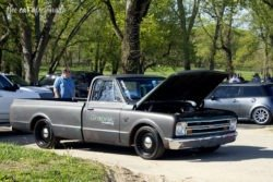 Louisville Cars and Coffee Chevrolet C10