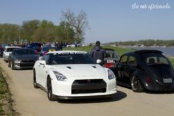 Louisville Cars and Coffee Nissan GT-R