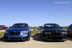 Louisville Cars and Coffee BMW M3s