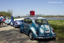 Louisville Cars and Coffee VW Beetles