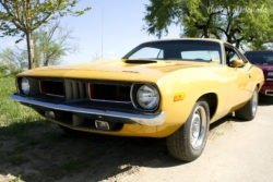 Louisville Cars and Coffee Cox Park Plymouth Barracuda