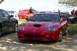 Louisville Cars and Coffee Cox Park Ferrari Maranello