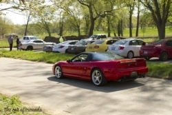 Louisville Cars and Coffee Cox Park Acura NSX