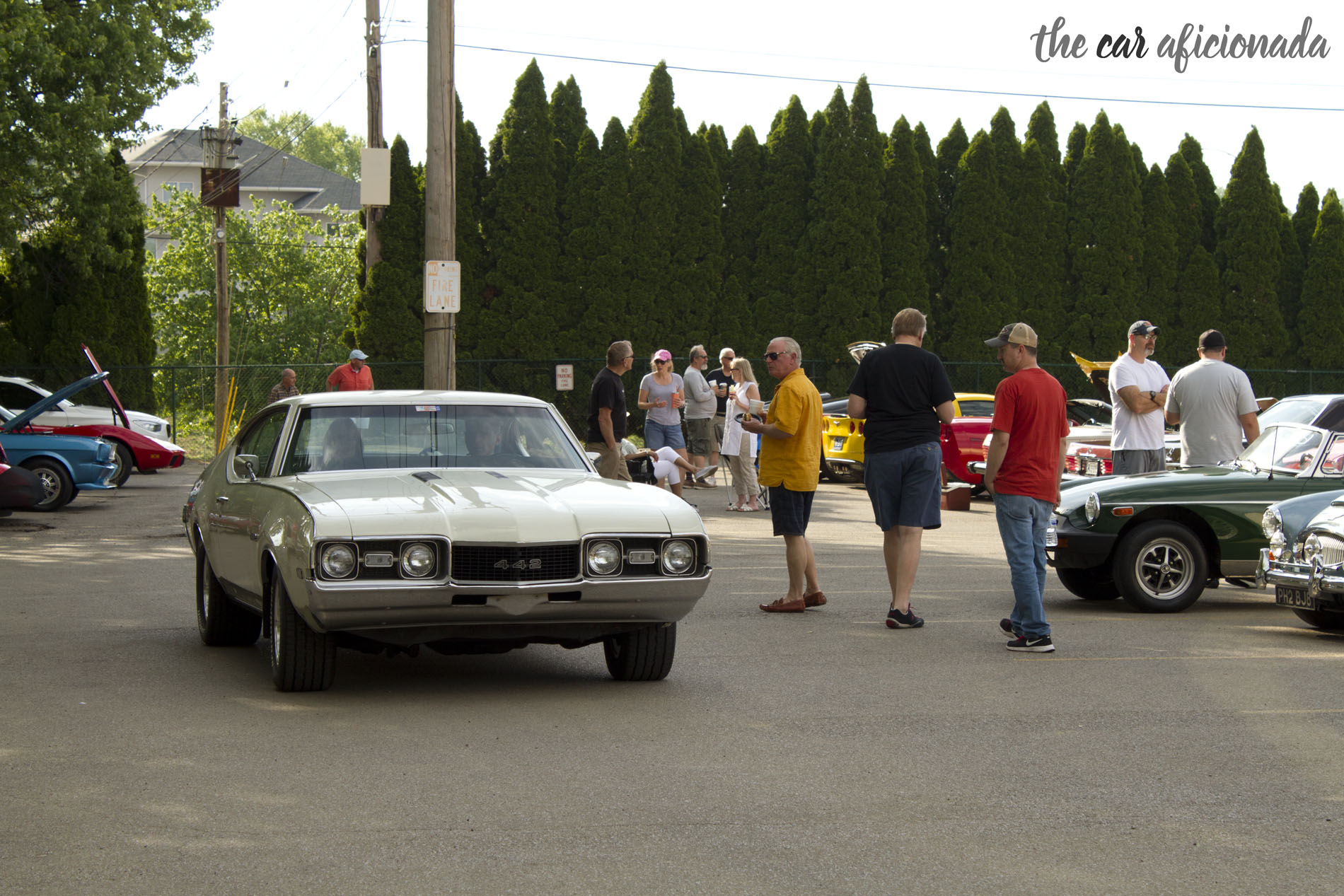 Oldsmobile 442 Louisville Cars and Coffee for a Cause