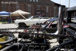 Beatersville rat rod pickup engine