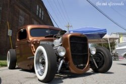 Ford street rod front
