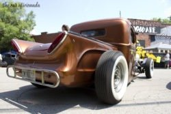 Ford street rod rear