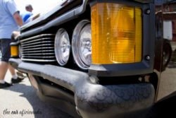 Mercury Monterey headlight detail