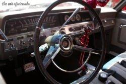 Ford station wagon interior