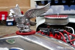 rat rod hood ornament