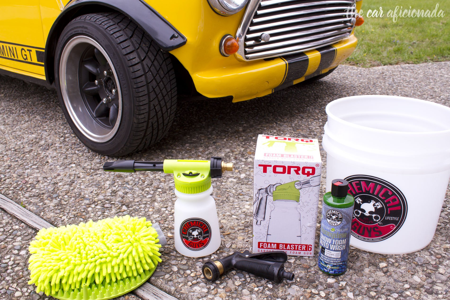Chemical Guys Torq Foam Blaster 6 kit