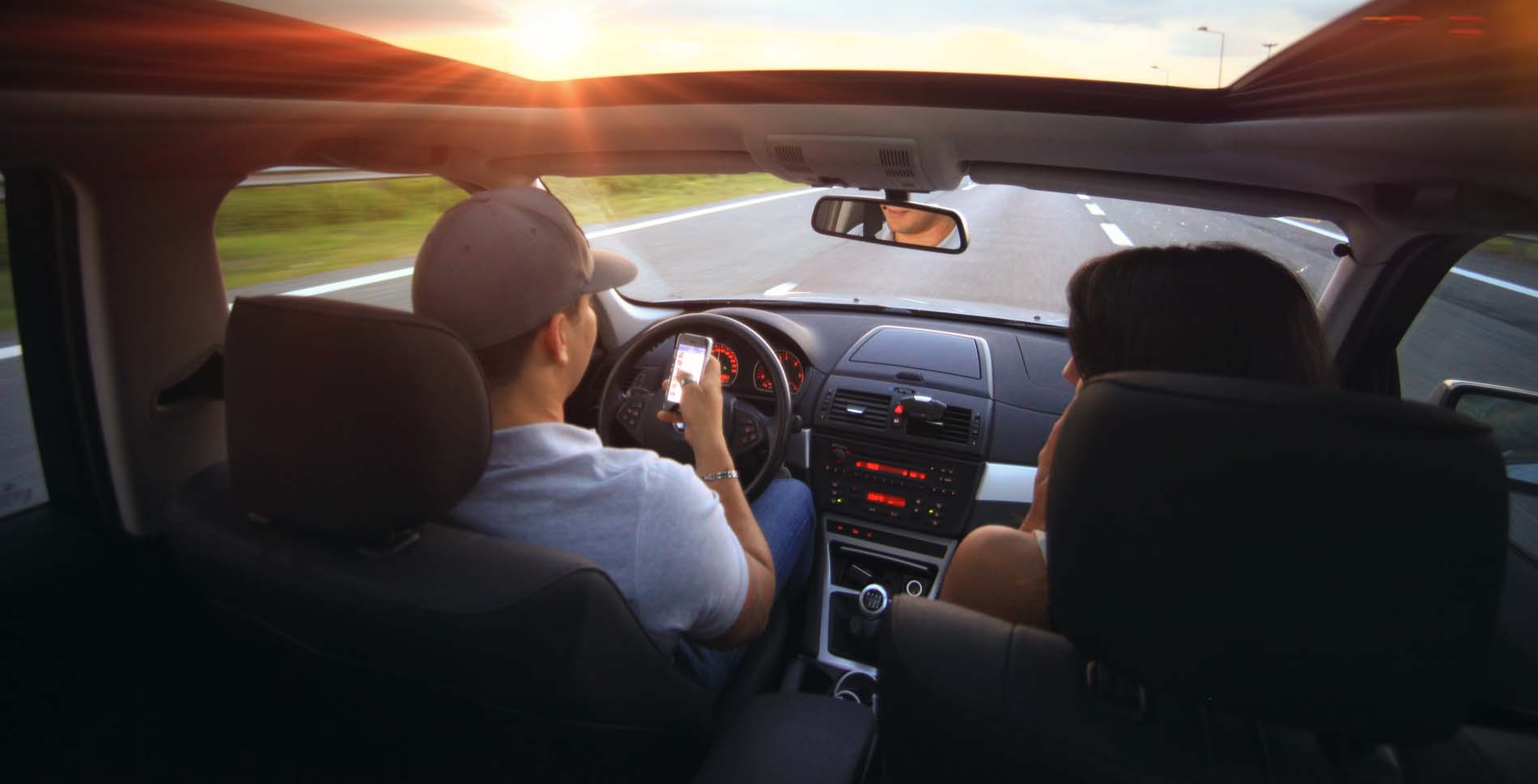 distracted highway driving safety systems