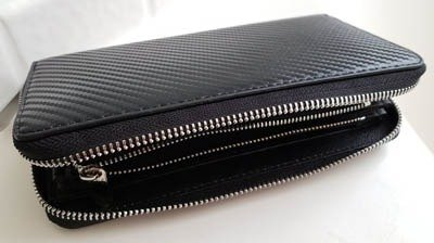 Garage Girls Jewelry carbon fiber wallet car enthusiast gift