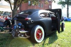 VW Beetle rat rod rear