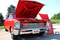 Chevy Nova at the Howard Steamboat Museum Car Show