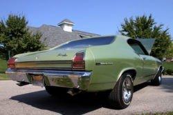 Chevrolet Chevelle rear