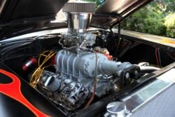 Chevy hot rod engine