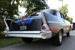 Chevy hot rod rear