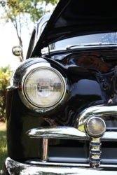 Buick Roadmaster headlight detail