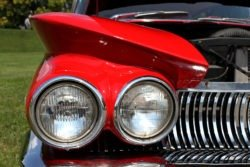 Buick Invicta headlight detail