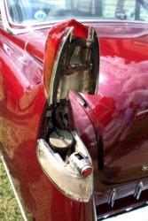 Cadillac Sixty Special fuel filler door